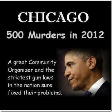 CHICAGO 2012 - 500 MURDERS