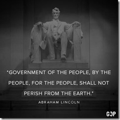 LINCOLN -GOVT OF THE PEOPLE