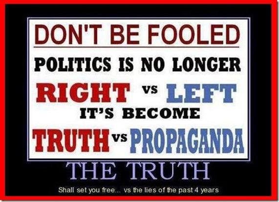 --    TRUTH VS POLITICS